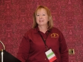 Newly installed NJ-NENA President Monica Gavio