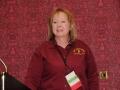 Newly installed NJ-NENA President Monica Gavio